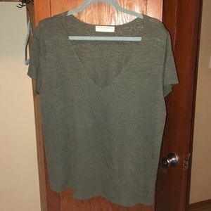 army green urban t shirt